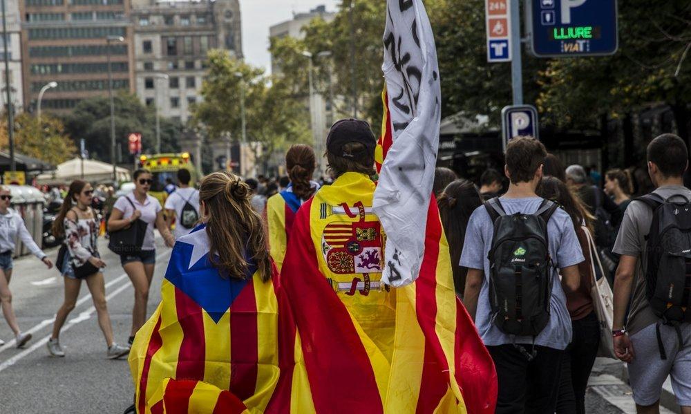 Spagna e Catalogna, il conflitto fra lo stato e la regione che rischia di tormentare per anni il paee. Foto: Fotomovimiento Licenza: CC 2.0