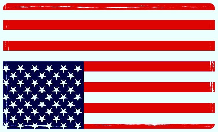 La bandiera statunitense rovesciata equivale ad una richiesta di aiuto contro pericoli militari o, nel caso del Russiagate, quando sono in pericolo le istituzioni democratiche. Foto: il Caffè e l'Opinione Licenza:  CC 2.0