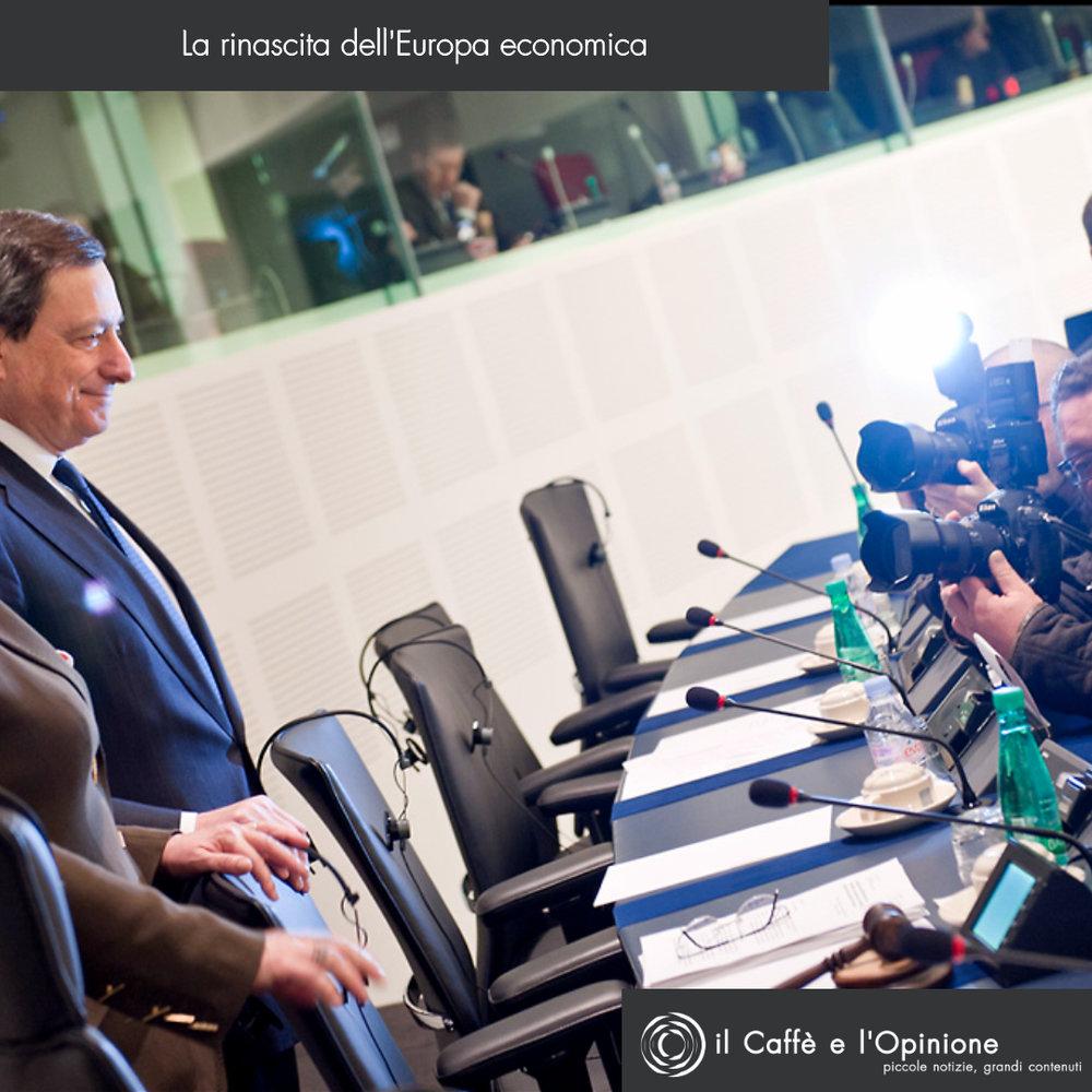 La Copertina:Mario Draghi, il presidente della Banca Centrale considerato il principale artefice della ripresa economica europei. Foto:Foto: European Parliament Licenza: CC 2.0