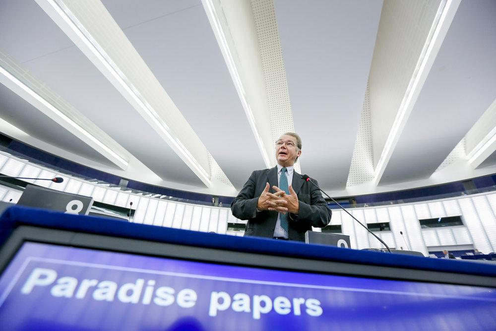 Il dibattito al Parlamento europeo sui Panama Papers e Malta. Foto: European Parliament  Licenza:  CC 2.0