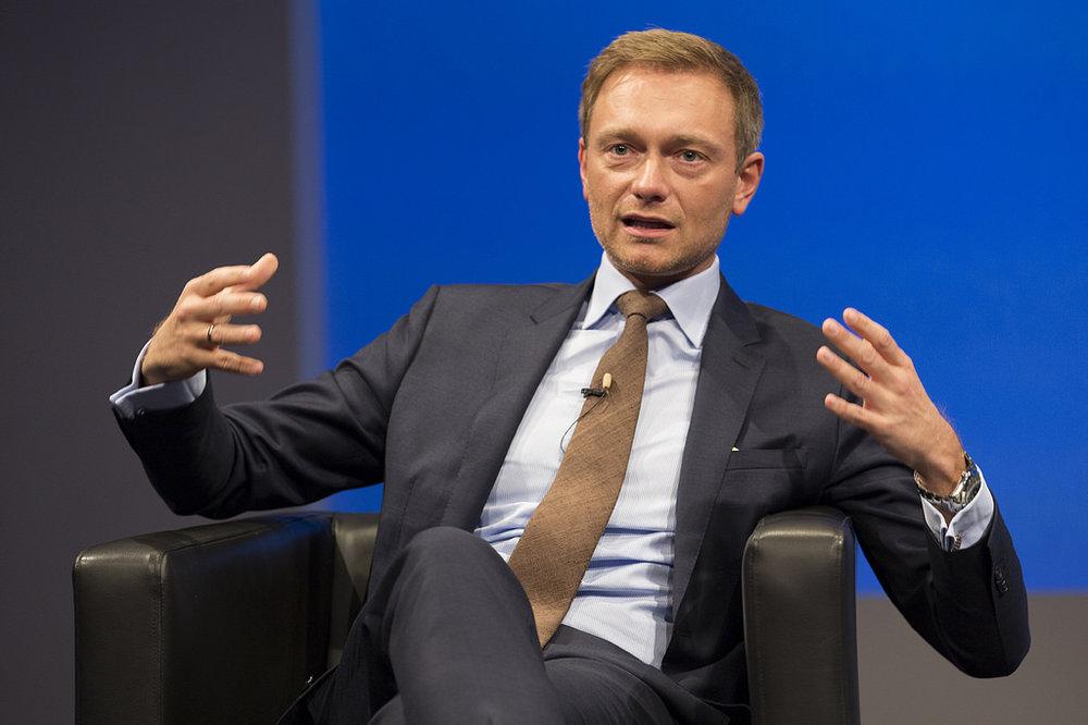 Christian Lindner, leader della FDP ed autore di una delle più forti scommesse politiche degli ultimi anni. Foto: INSM Licenza:   CC 2.0