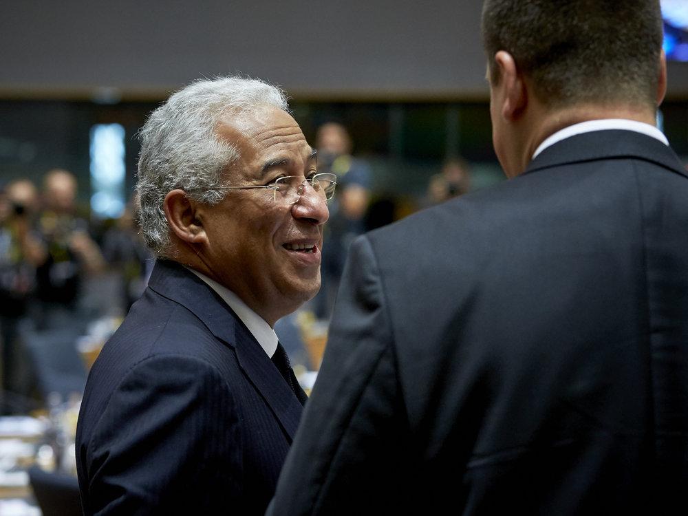 Il socialista Antonio Costa, primo ministro del Portogallo. Foto: European Council Licenza:  CC 2.0