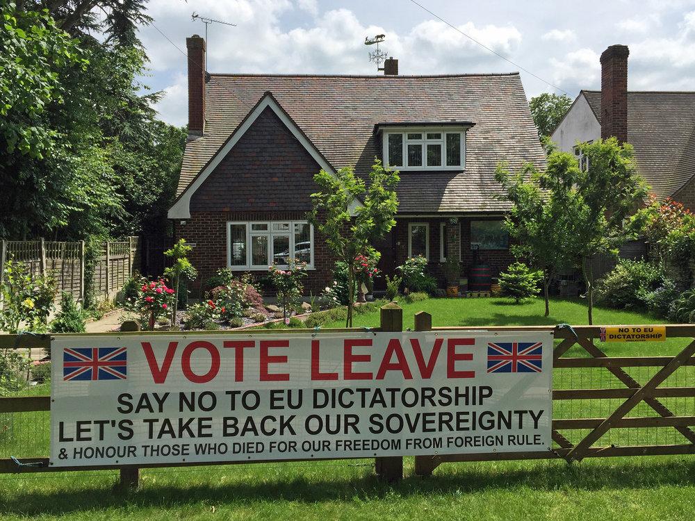 """Un esempio della """"finezza"""" elettorale della Brexit. Foto: diamond geezer Licenza:  CC 2.0"""