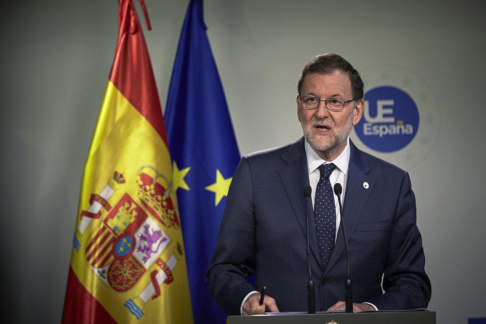 Mariano Rajoy, il Premier spagnolo autore di una delle analisi più interessanti sul futuro dell'Unione Fiscale. Foto: European Council Licenza:  CC 2.0