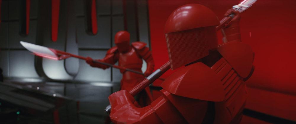 La guarda pretoriana di Snoke: semplicemente magnifici. Potrei riguardare leFoto: Star Wars/Lucasfilm/Disney