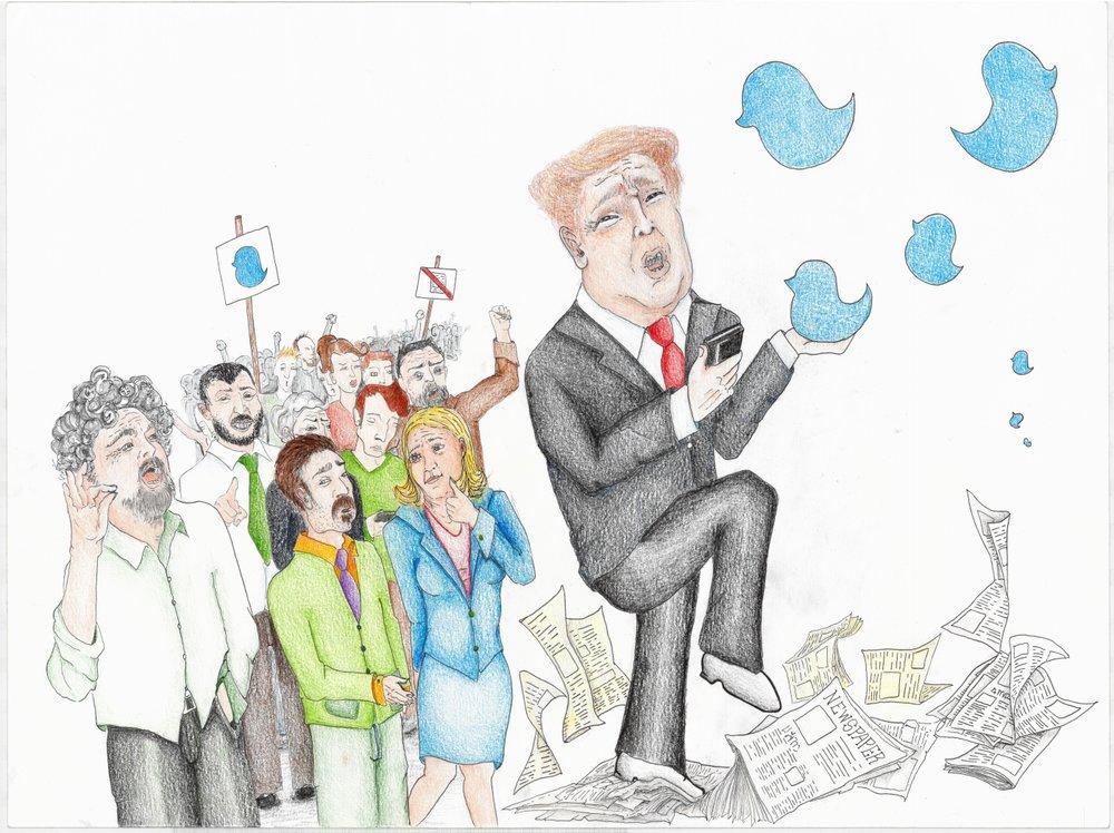 L'allegro mondo del Gentismo e della politica, nell'illustrazione di Clara Assi. Autore: Clara Assi Licenza: CC 2.0