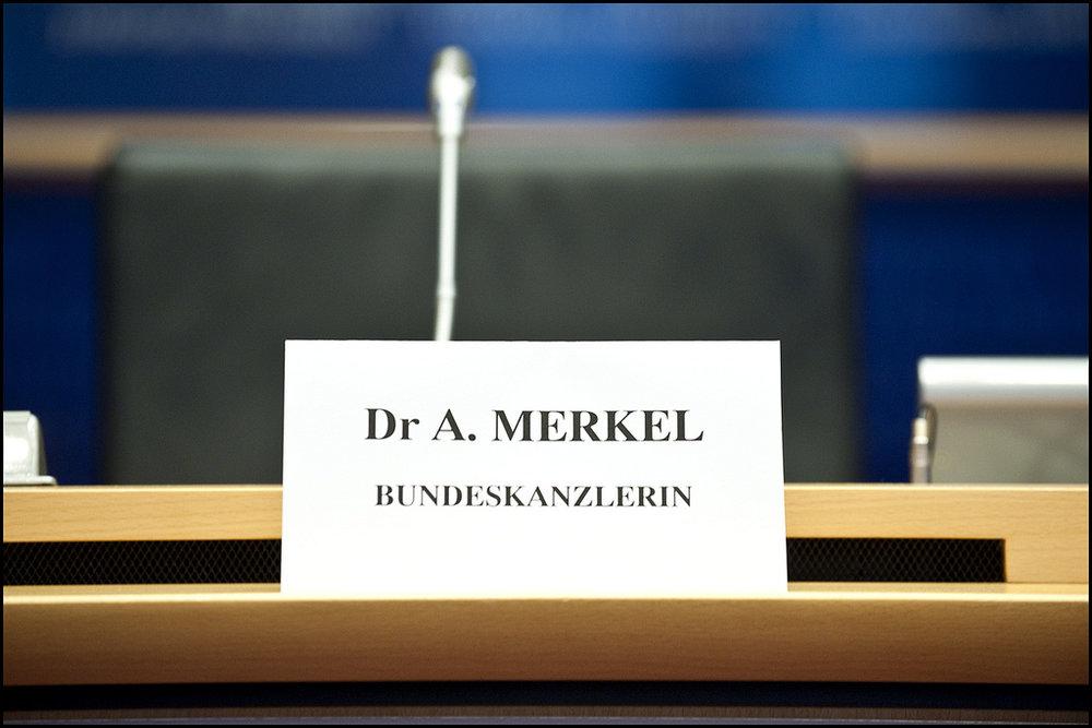 Un'immagine comune, un nome ed un titolo che ormai erano diventati sinonimi della Germania. Foto: European Parliament Licenza: CC 2.0