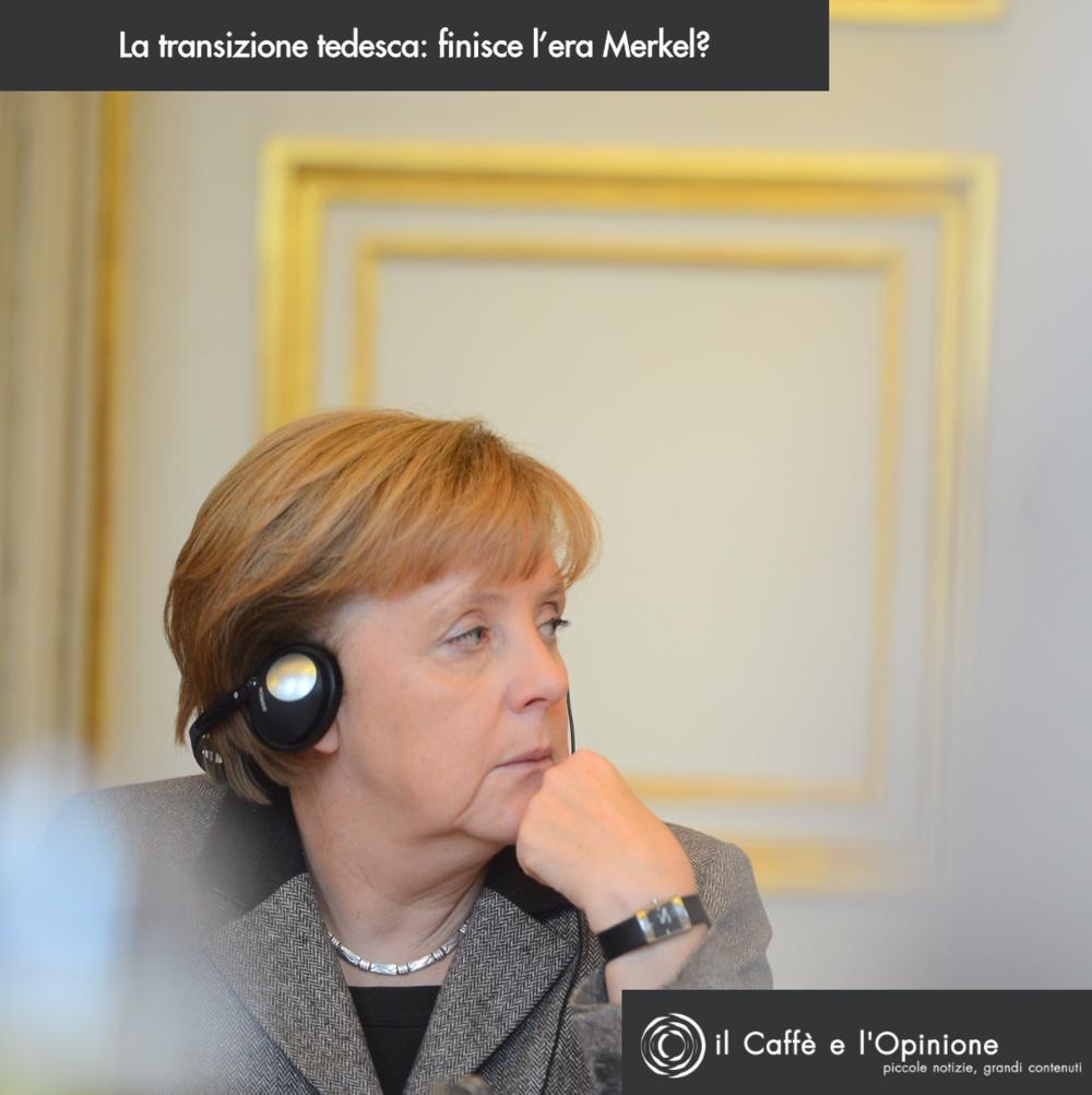 Angela Merkel al bivio: dicembre ha visto traballare - in patria - la Cancelliera di ferro, mentre in Europa Angela regna ancora sovrana. Foto: il Caffè e l'Opinione Licenza: CC 2.0