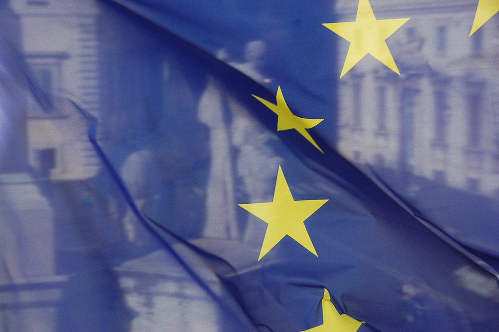 La bandiera Europea del Quirinale. Foto: bob Licenza:  CC 2.0