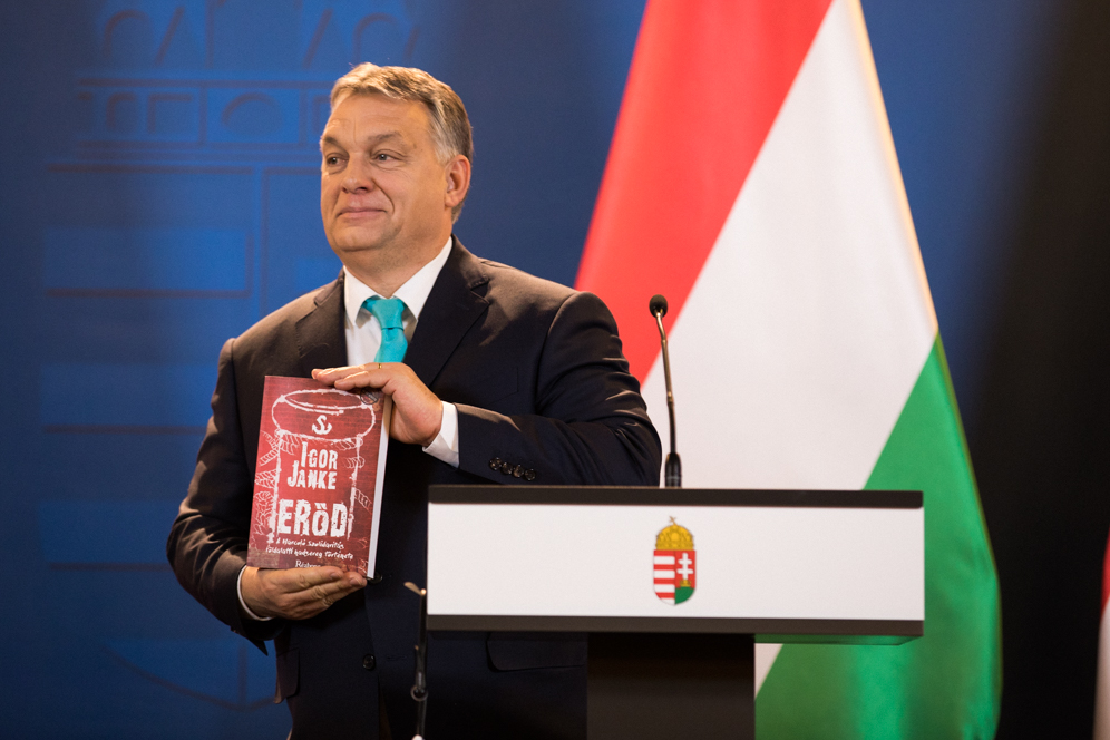 Viktor Orban, il Primo Ministro ungherese. Foto: Kancelaria Premiera Licenza:  CC 2.0