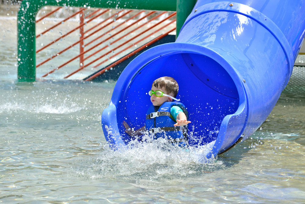 The  Outdoor Pool, Splash Park and Cafe  is the place to be for summer fun.