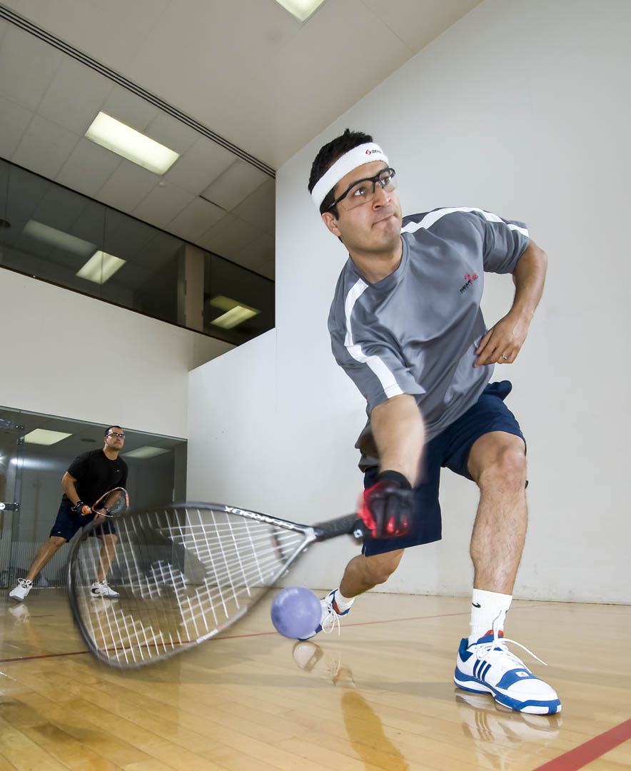 The Club has three  Racquetball Courts  which can be conveniently reserved free of charge online.