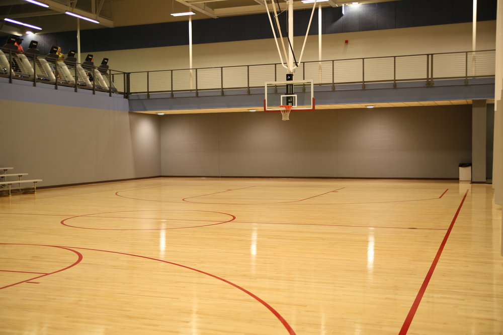 The Club has two  Basketball Courts  for pick up games and open play.