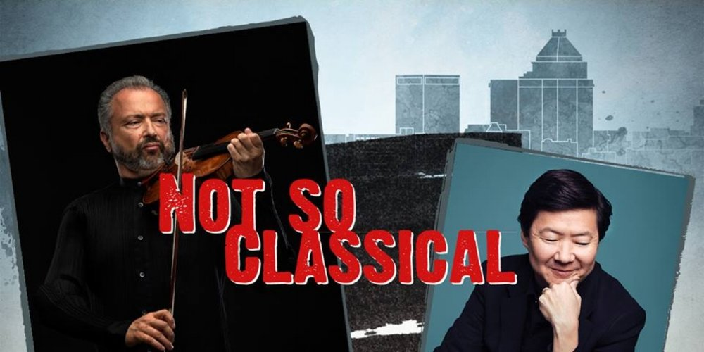 We are thrilled to partner with the Greensboro Symphony Orchestra to launch the world orchestral premiere of the Not So Classical concept at the Carolina theater. This hybrid film/concert experience stars the one and only Ken Jeong and a legendary musician Dmitry Sitkovetsky.