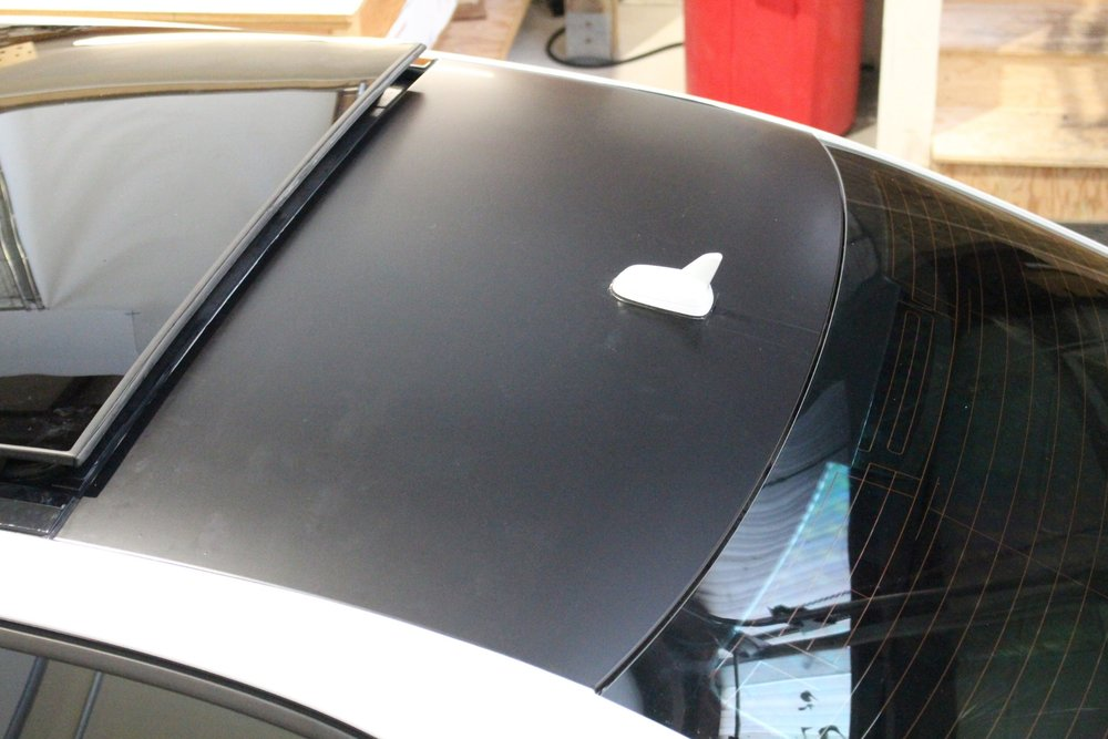 Audi A3 Roof Wrap