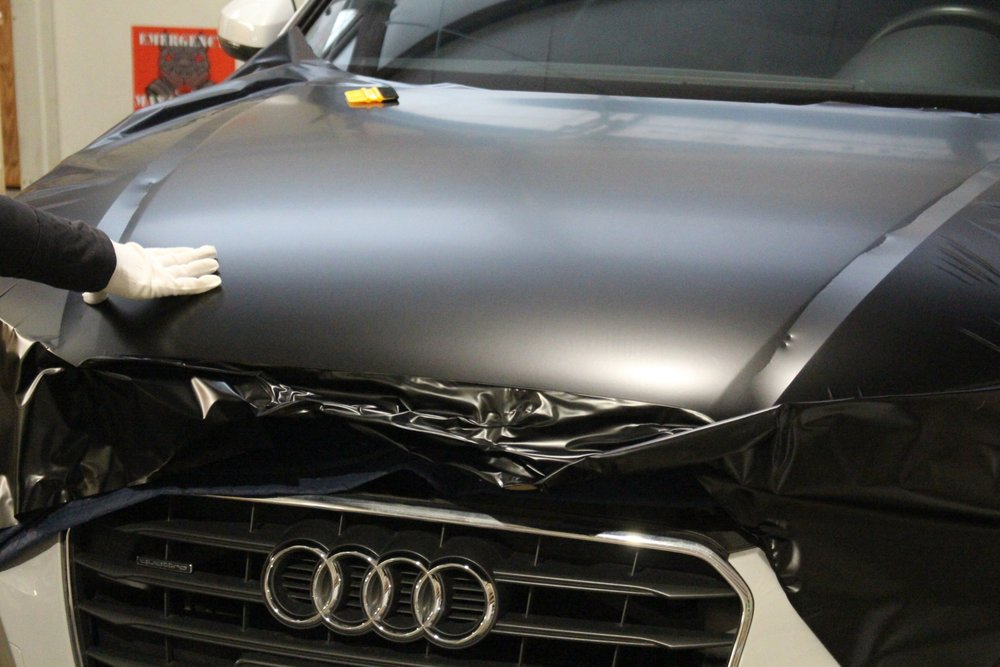 Audi A3 Hood Wrap