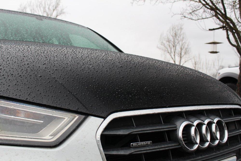 Audi A3 Hood Wrap Rain Wash