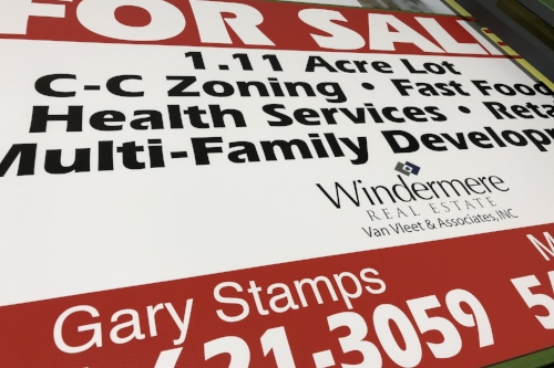 Real Estate Signs -