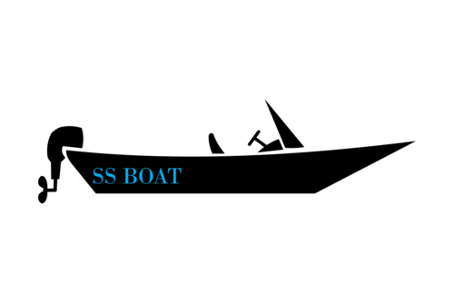 small boat graphics
