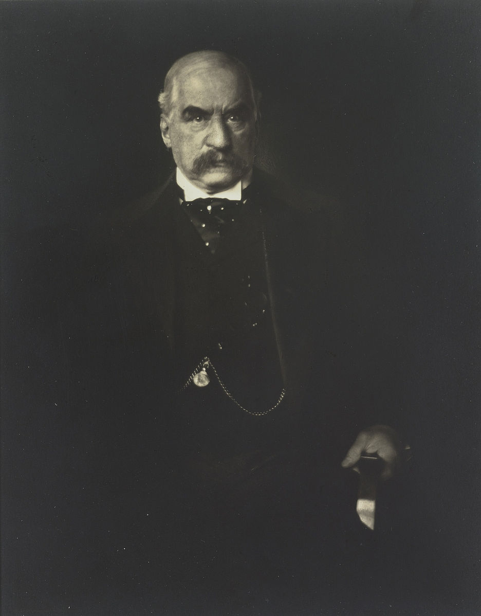 JP Morgan  by  Edward Steichen