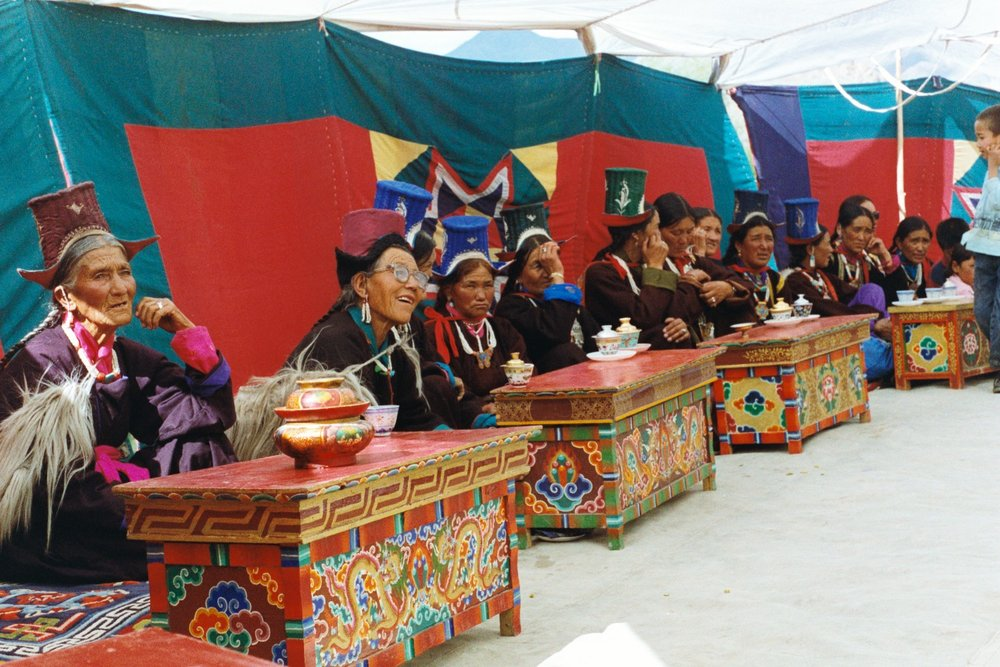 Meeting of the  Women's Alliance of Ladakh (WAL)