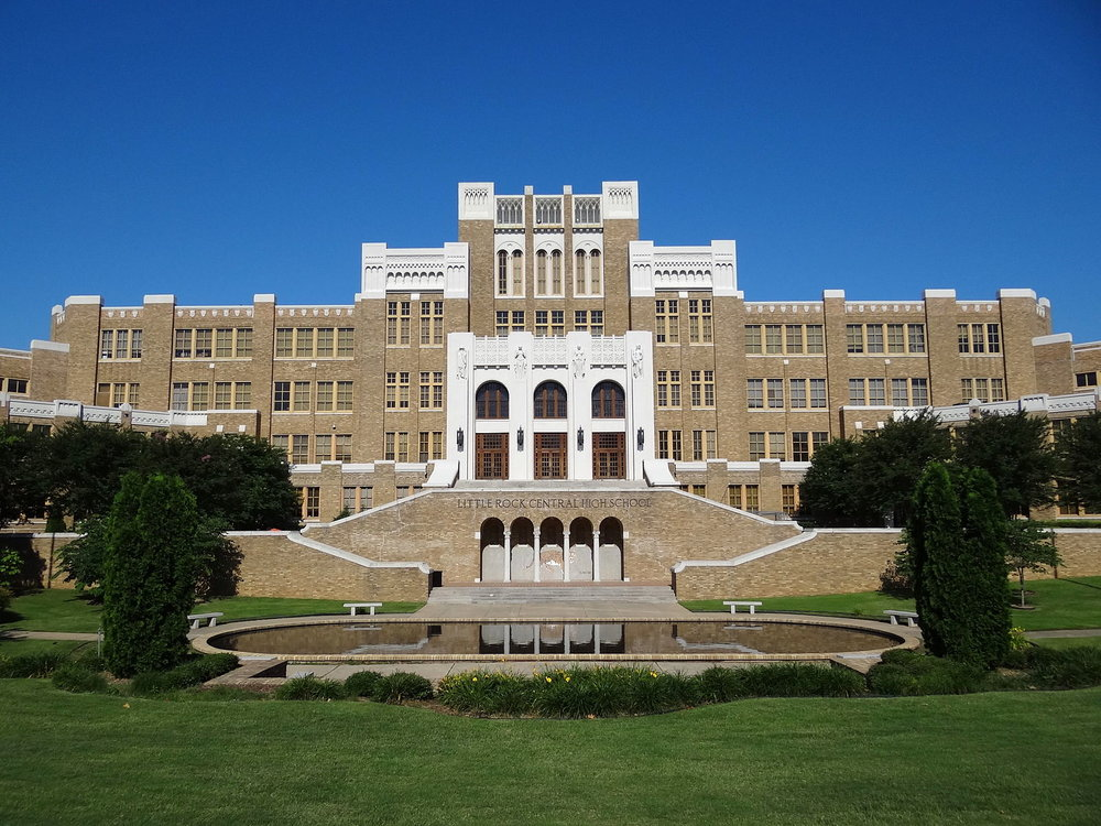 Central High School, Little Rock, AK  by  Adam Jones, Ph.D.