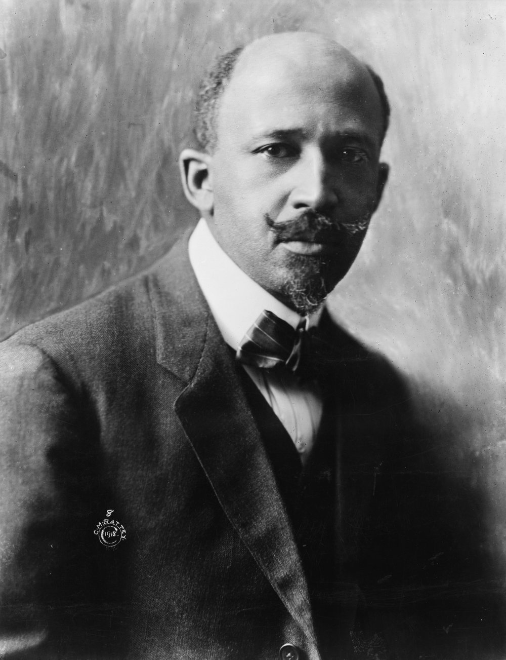 W. E. B. Du Bois (1868 – 1963), co-founder of the National Association for the Advancement of Colored People (NAACP), in 1918.   Source