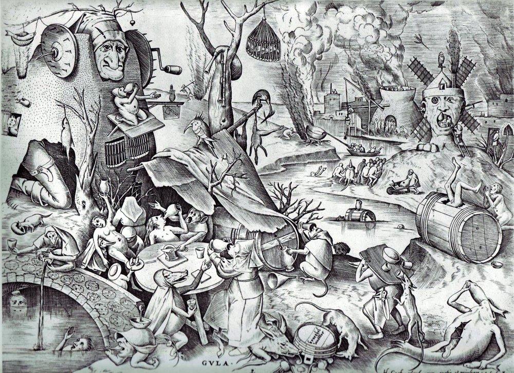 Pieter Bruegel circa 1557