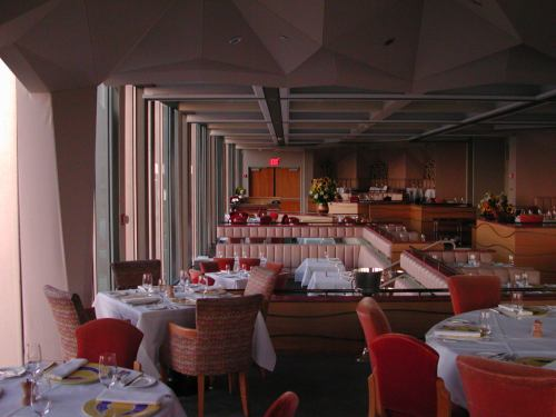Windows on the World restaurant interior, November 4, 1999   Source