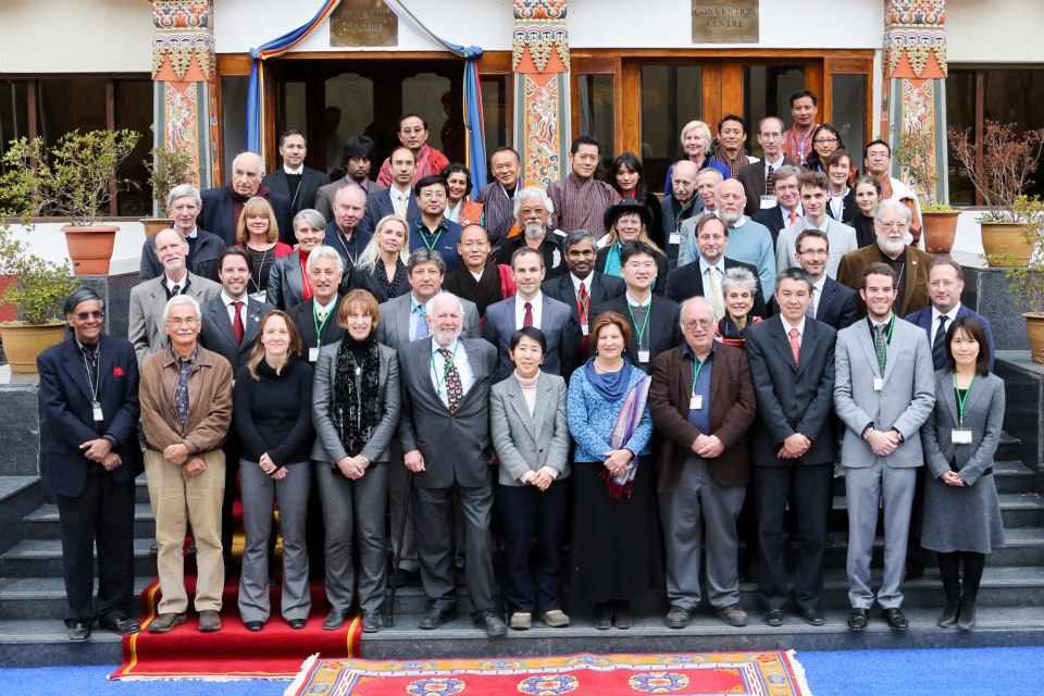 IEWG (International Expert Working Group) Meeting in Bhutan with the King and Queen, 2013
