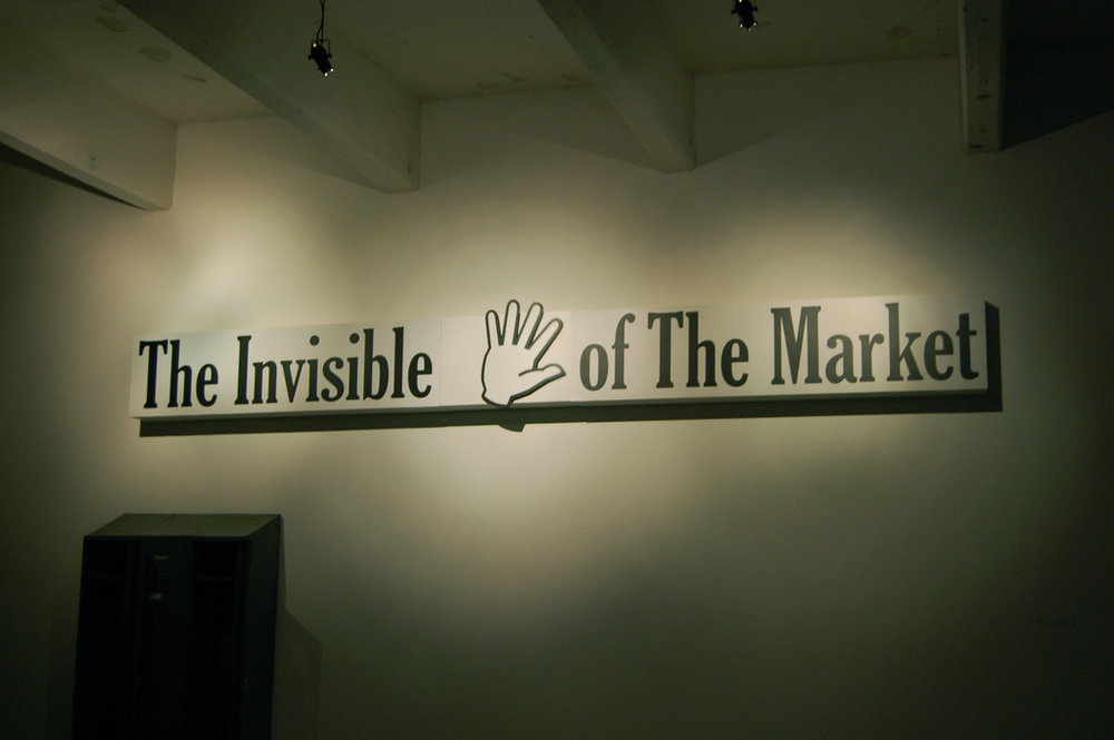 invisible hand, by Andrew Russeth 2009.jpg