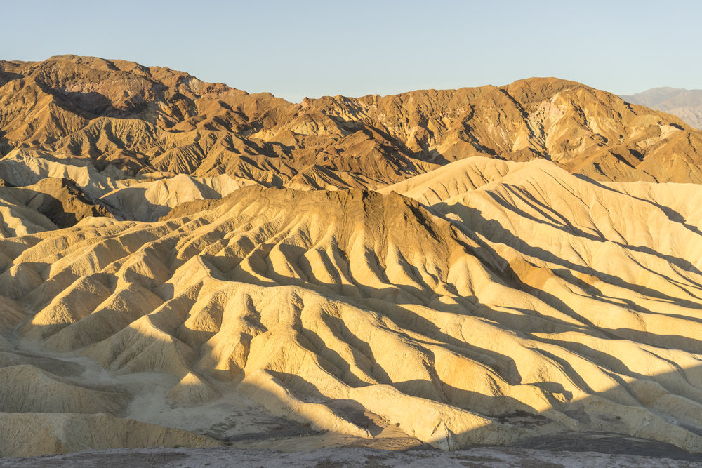 Zabriskie Point, Death Valley, California. Photo: Tiago Silva Nunes