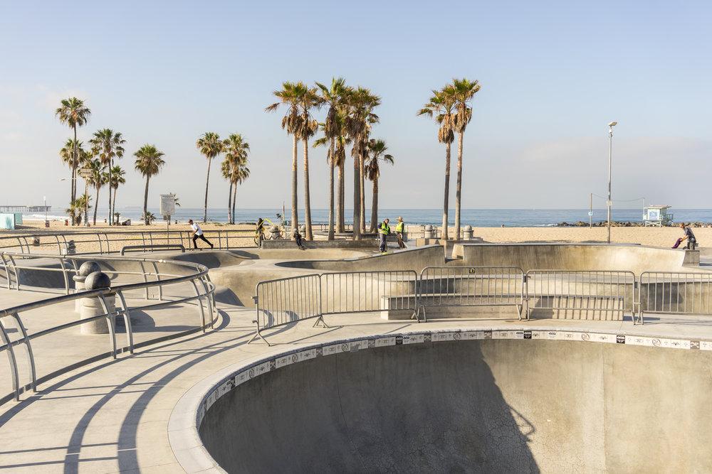 Venice Beach skatepark, Los Angeles, California. Photo: Tiago Silva Nunes