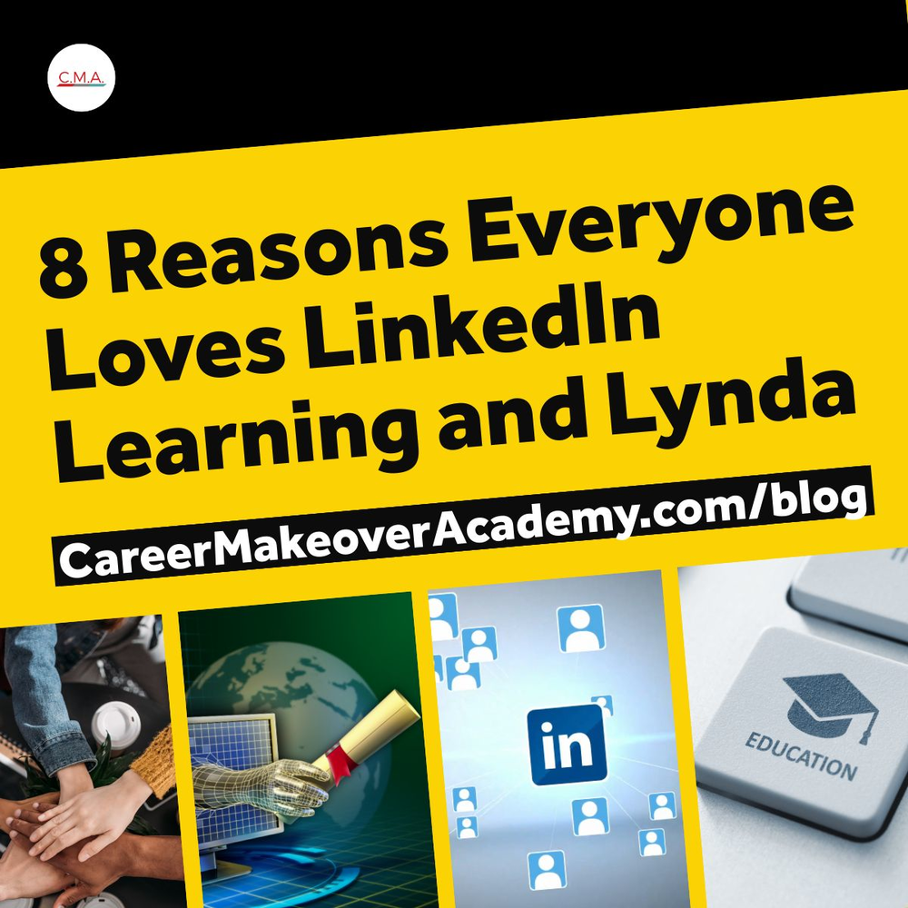 LinkedIn Learning and Linda - Career Makeover Academy