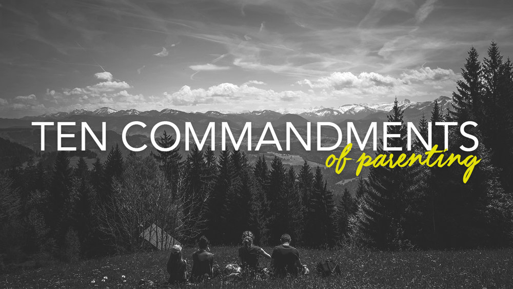 No one hands us a guidebook when our children are born. We try our best and figure it out along the way. In this session Kevin will give you ten commandments that will guide you to lead your family like never before