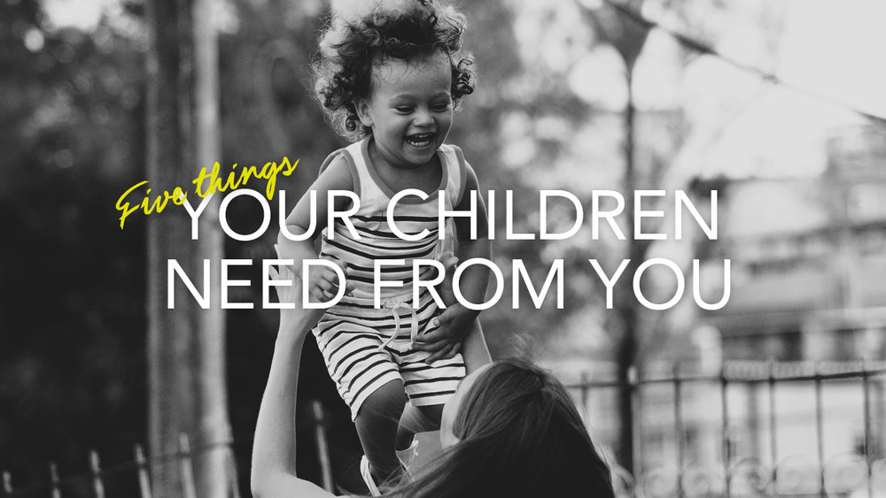 How can you raise children that love God, love others, and make a positive impact in the world around them? In the next few minutes you will discover five things your children need from you in order to become what God has destined them to be.