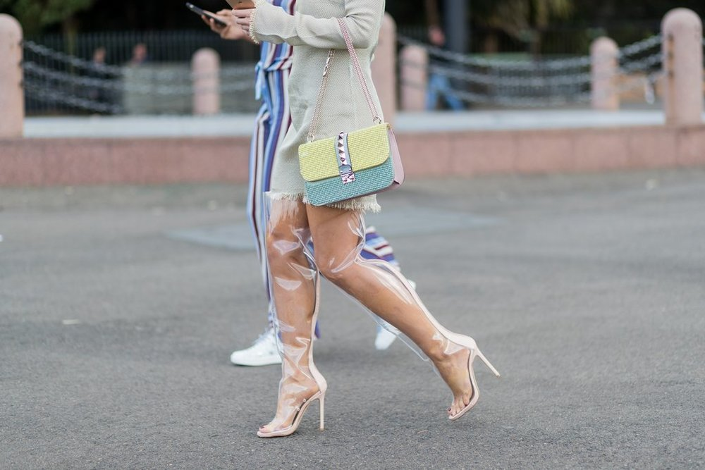 Work-your-PVC-boots-flattering-structured-dress-stops.jpg