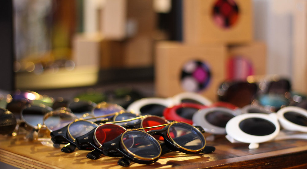 Get in the shade with a variety of sunglasses for men and women. Shades are sold in store only.  Photo by Maik Mur