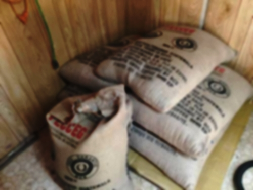 Fair trade, small batch roasted beans.