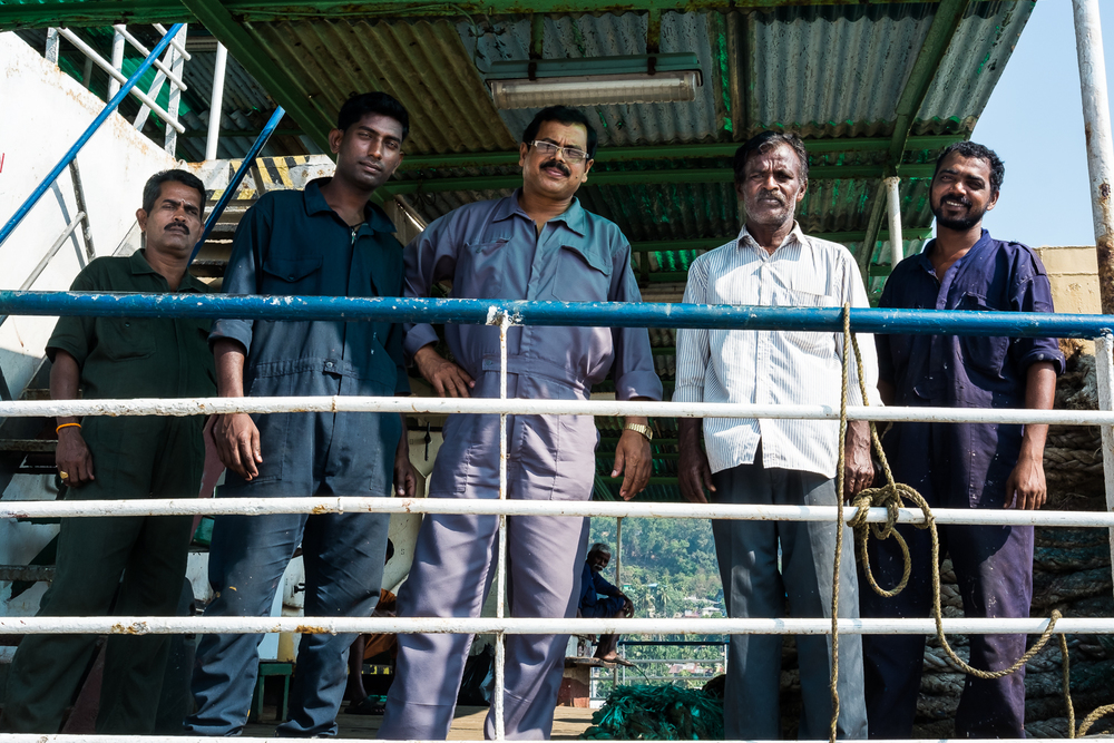 Ferryboat Crew, Port Blair, Andaman Island, India