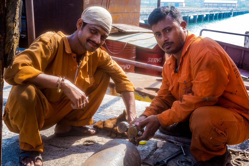 The Welders, Port Blair, Andaman Island, India