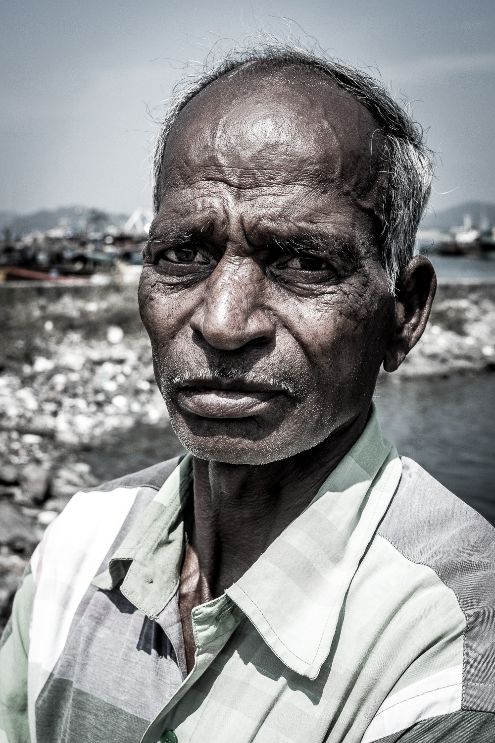 Fisherman, Port Blair, Andaman Island, India