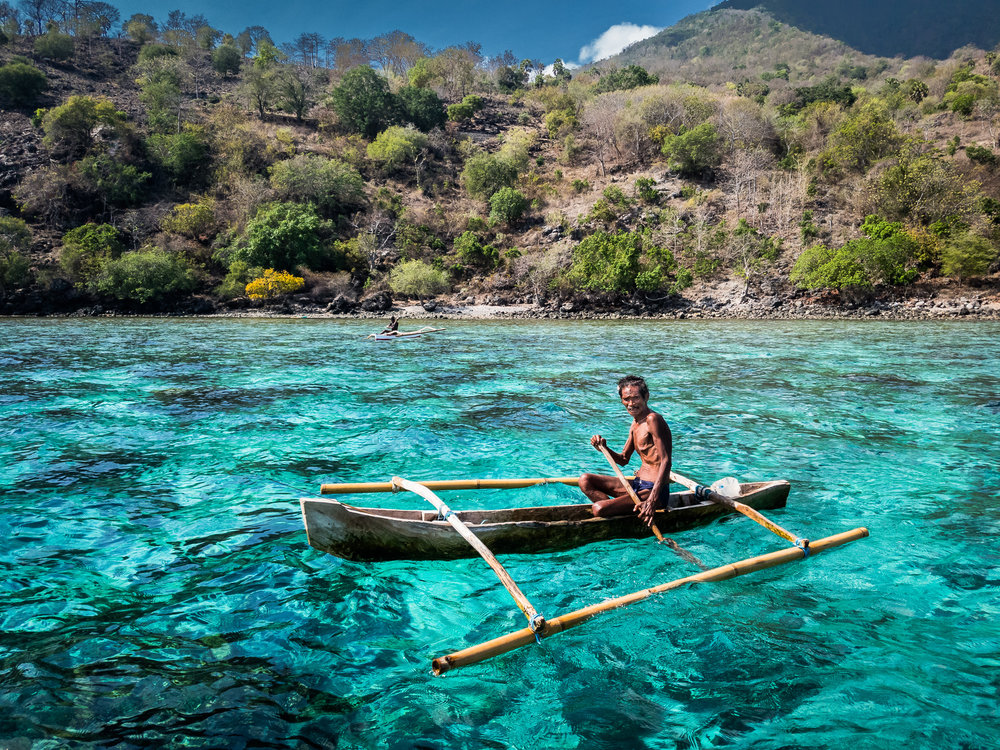 Fisherman, Alor, Indonesia