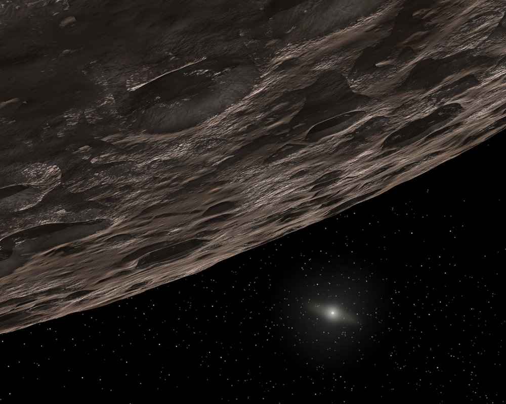 Artist's Conception of a Kuiper Belt Object. Credit: NASA/JPL-Caltech/T. Pyle (SSC)