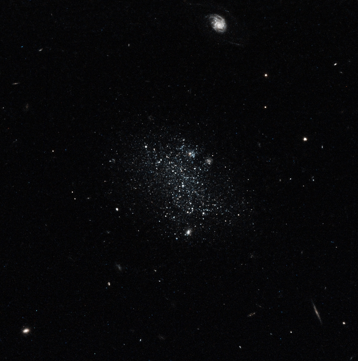Dwarf Galaxy Pisces A. Image credit: NASA, ESA, and E. Tollerud (STScI