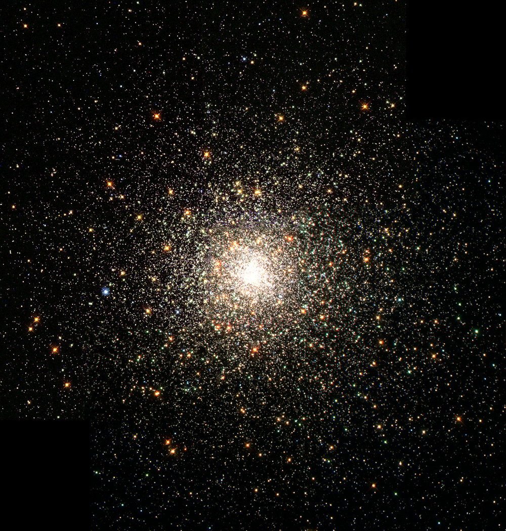 This stellar swarm is M80 (NGC 6093), one of the densest of the 147 known globular star clusters in the Milky Way galaxy. Image credit:  The Hubble Heritage Team (AURA/STScI/NASA)