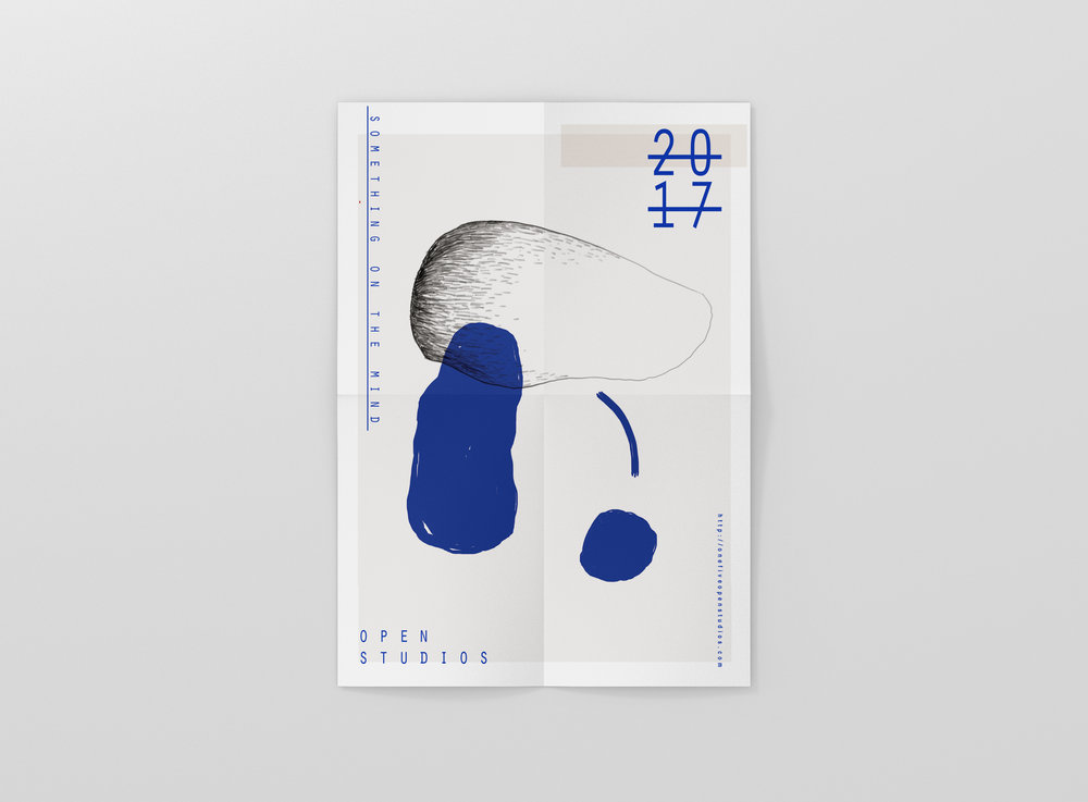 Open studios pop-up / poster design
