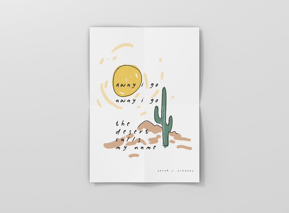 Little saint southwest / illustration + design