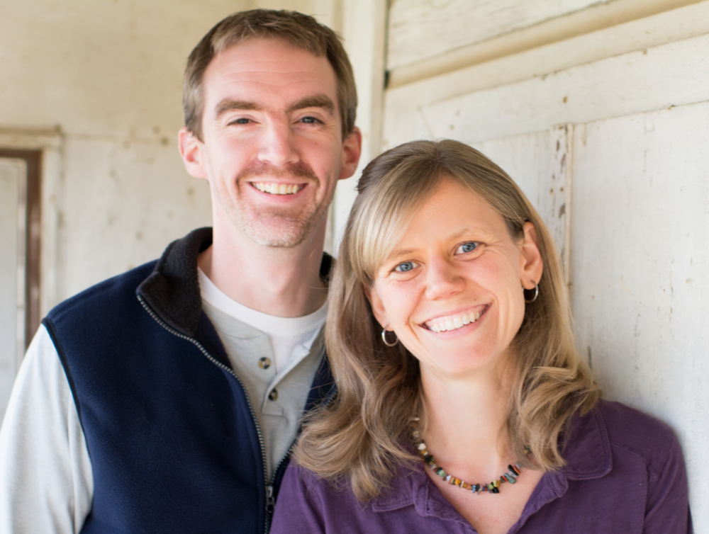 Rob & Anna Gribbin Associate Pastor for Families & World Missions