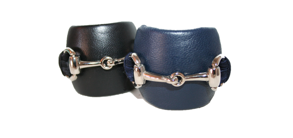 GLP - LEATHER PONYTAIL HOLDER WITH HORSE BIT BUCKLE — RENEE RIVERA ... a4a72ea2915